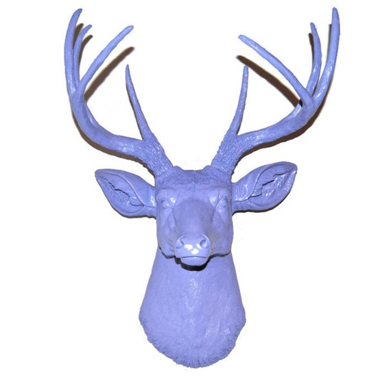 Deer on Etsy in Purple