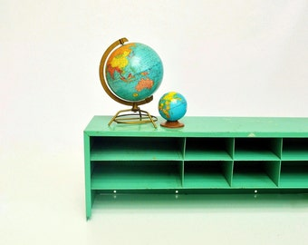 Industrial Parts Cabinet - Mint Green Storage Cabinet