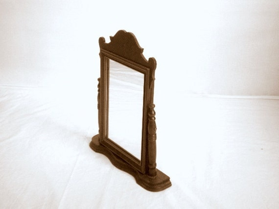 Antique Vanity Table Mirror Cosmetic Dressing Table