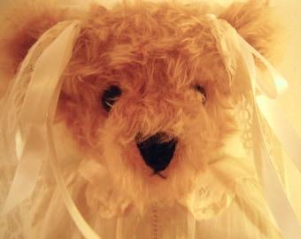 Handmade Golden Mohair Teddy