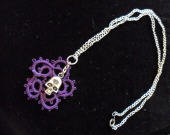 Skull Headed Handmade Lace