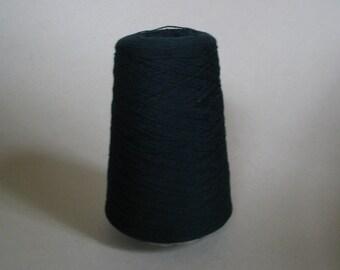 Pure Cashmere Yarn 100%, Cone, Tartan Green, 300 grams Nm2/18