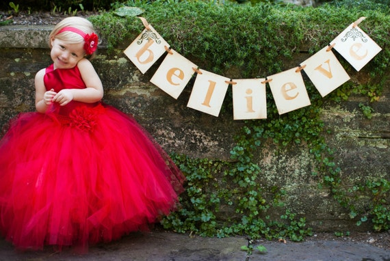 Classic RED Pixie tutu dress ..Flower Girl Dress..Vintage Photography Prop. Create your own OOAK dress