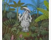 Ganesha, Small Giclee Print