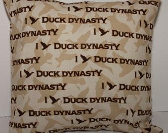 12x12 Duck Dynasty® Decorative Pillow