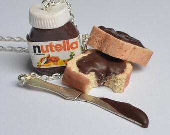 Nutella breakfast necklace