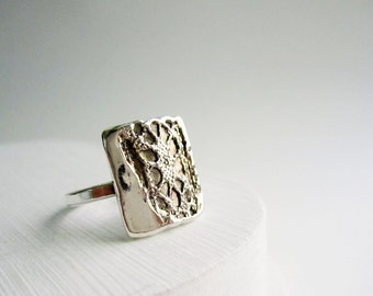 Silver Lace Ring-Style 6