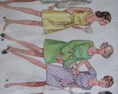 Butterick Pattern 5245 One-Piece Dress  1960's  Uncut