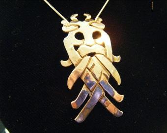 Viking Mask Pendant