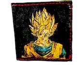 Dragon Ball Z Wallet featuring Goku is Geek Gift Nervana. Holds 8 Cards,1 Bill Slot