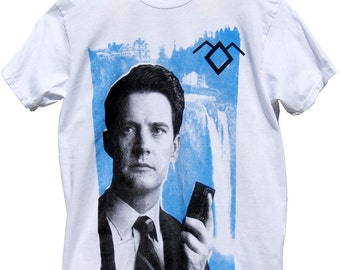 TWIN PEAKS: Special Agent Dale Cooper T-Shirt sizes S-M-L-XL