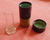 Antique Glass Minim Measure with Original Box