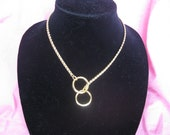 """18"""" Gold Necklace, Snake Chain Necklace, Choke Chain Necklace"""