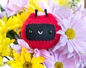Stuffed Animal - Ladybug Chuppy - Crochet Amigurumi