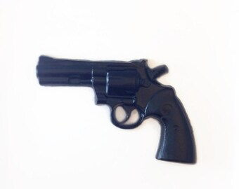 Gun Soap - Police Officer, Party Favor, Gift for Him - One Gun Soap