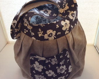 Large sling purse.