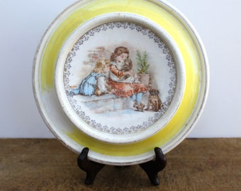 Antique  child's plate or bowl