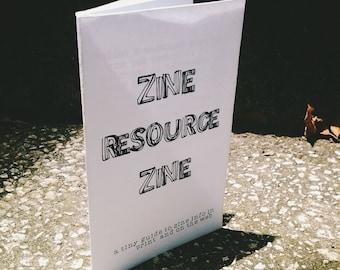 Zine Resource Zine (Updated June 2017)
