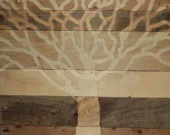 Indoor Outdoor pallet wood wall art