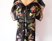Beach dress  Caftan cover up kimono sleeves tunic