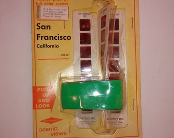 Vintage 1960 Tourist Viewer , Sawyer's Inc., San Francisco , NIP