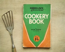 1930s vintage cookery book