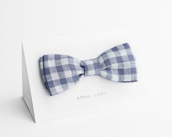 Bow tie, purple bow tie - double sided