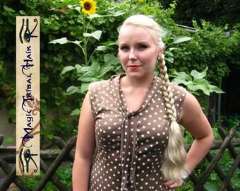 Magic Tribal Hair BRAID EVERY COLOR 20''/ 50 cm long hair piece Wavy hair extension Braided ponytail hair fall Wedding bride hair accessory