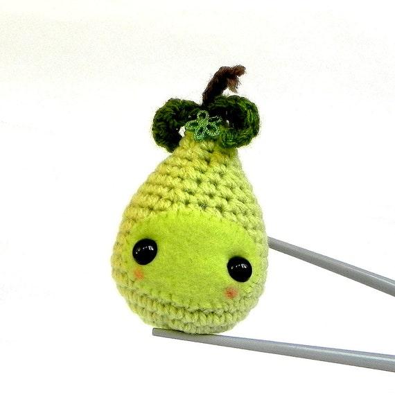 Amigurumi Crochet Size : Amigurumi Pear Baby MochiQtie Crochet Amigurumi by MochiQtie