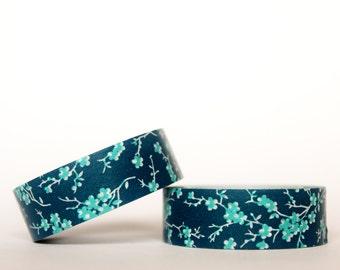 Navy Sakura Washi Tape