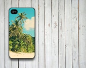 Iphone 4 Hard Plastic Case - Beach iphone 4 case - Beach - iphone 4 case - Summer beach  iphone 4 case