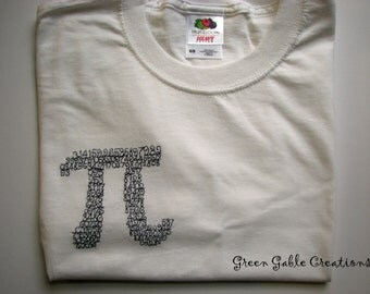 Pi T-shirt (Also available in Adult sizes!)