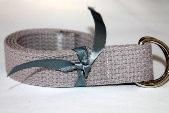 Boys gREY Belt Solid Grey D Ring Kids Light Grey  Belt Belt for Kids Childrens Grey Belt School Uniform Neutral Belt Kids D Ring