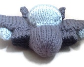 MADE TO ORDER: Hand knit F-15 Strike Eagle Jet Toy Model
