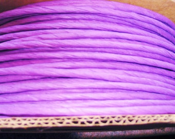 10 Yards of Purple Twisted Paper Cord/Ribbon