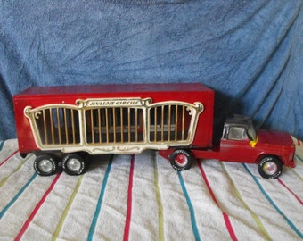 Vintage 70s Nylint Circus Truck