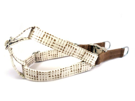 Dog Harness, BASKET, Handmade Dog Harness, Dog Step in Harness, Step in Dog Harness
