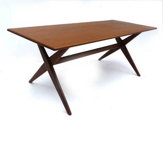 PERFECT Teak mid century Modern COFFEE TABLE