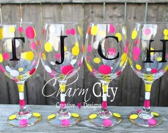 Personalized Wine Glass 20 oz