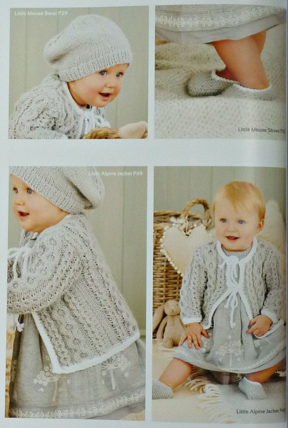 Baby Knitting PATTERN BOOK Baby Aran Knitting Book 2 ...