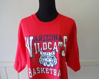 Vintage Arizona Wildcats Basketball T-shirt 1994