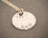 Hand Stamped Jewelry, Personalized Necklace, Gift For Mom, Personalized Mom Necklace, Hand Stamped Necklace