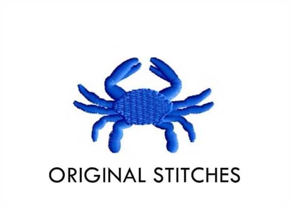 Crab Mini Embroidery Design