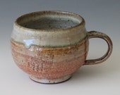 Shino Coffee Mug Handmade Pottery mug Ceramic mug cup - InsCeramics