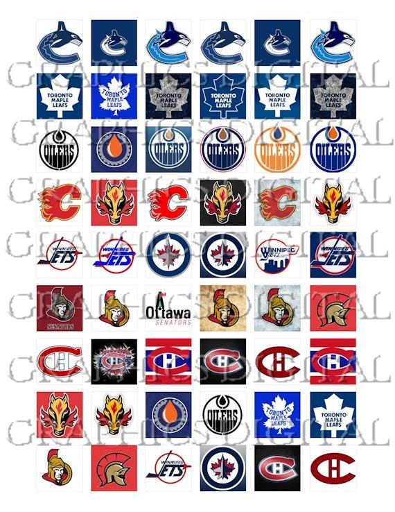 Basket Weaving Supplies Winnipeg : National hockey league canadian logos sports
