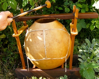 Ilimba Drum Percussion Bar with 2 Mallets
