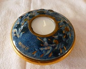 Beautiful Sascha Brastoff Ceramic Tea Light Candle Holder