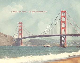 San Francisco Art, San Francisco Photo, Golden Gate Bridge, Golden Gate Art, Golden Gate Photo, San Fran Wall Art, Golden Gate Print