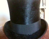 Small (youth size) Vintage Beaver Top Hat
