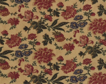 Sweet Pea Fabric Collection by Kansas Troubles - Tan Medley 9400-11 - 1 Yard